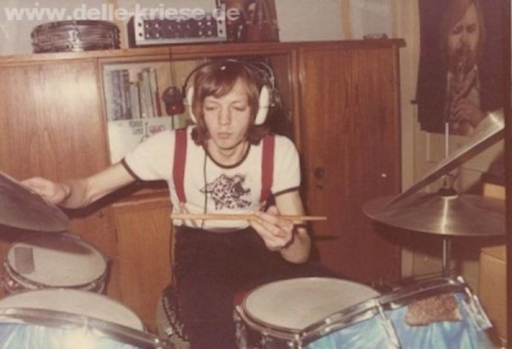 Delle Kriese, erstes Schlagzeug, Foto: privat